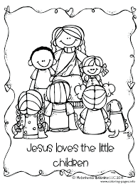 printable pictures of jesus with children. Beautiful Children Free Printable Jesus Coloring Pages Birth    With Printable Pictures Of Jesus Children A