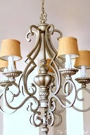 burlap chandelier fabulous mini burlap chandelier shades