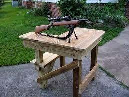 Best 25 Shooting Bench Plans Ideas On Pinterest  Shooting Table Plans For Portable Shooting Bench