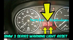 Bmw Dpf Warning Light Bmw Service Warning Reset How To Diy Emissions Warning