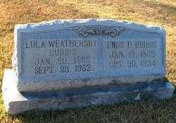 Lula Weathersby Burris (1862-1952) - Find A Grave Memorial