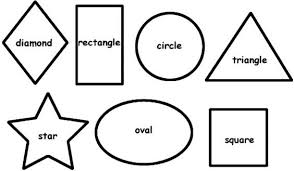 Small Picture Shape Colouring Pages FunyColoring