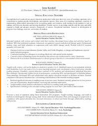 Special Education Teacher Resume 100 Special Education Teacher Resume Commerce Invoice 25