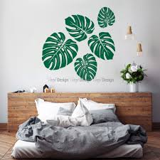 Small Picture Tropical Leaves Wall Decal Nature wall decals