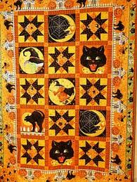 halloween quilts patterns | Halloween Quilt Patterns | Quilting ... & 2011 Halloween quilt ~same quilt pattern, unfolded, prefer the colors in  the folded Adamdwight.com