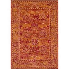 burnt orange rug. Arboleas Burnt Orange 2 Ft. X 3 Area Rug
