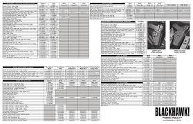 blackhawk holster size chart blackhawk holster chart en by prefair imrico ltd issuu