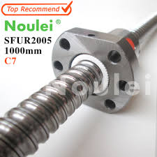 ball nuts. noulei ballscrew assembly sfu2505 1000mm ball screw nuts and end machined for high stability linear cnc diy kit-in guides from home e