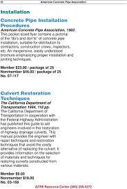 Boxcar Culvert Design Software Resources Of The American Concrete Pipe Association Pdf