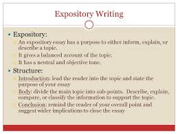 argumentative writing ppt  expository writing expository structure