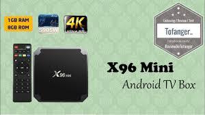 X96 Mini - Android Box TV - Un format mini pour une smart box sous android  - YouTube