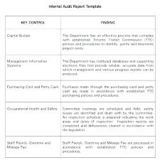 Safety Audit Report Template Safety Audit Report Sample As
