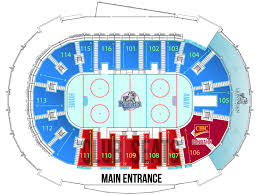 Royals Seating Chart Victoria Royals Select Your Tickets