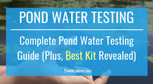 Best Pond Water Test Kit Complete Pond Water Testing Guide