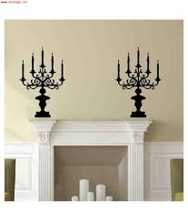 veldeco black vinyl candle stand wall sticker veldeco black vinyl candle stand wall sticker at best s in india on snapdeal