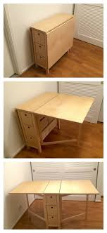 winsome wood foldable desk wall mounted ikea furniture folding computer fold up white collapsible simple