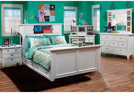 white bedroom set full. Simple Full Belmarwhite6pcfullbookcasebedroom_525x3663462697Pjpg Intended White Bedroom Set Full D