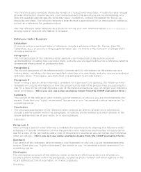 Example Reference Letter For Employee Sample Recommendation Letter