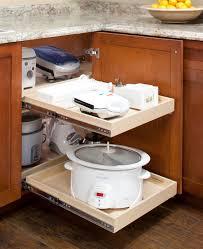 blind corner cabinet solutions traditional kitchen