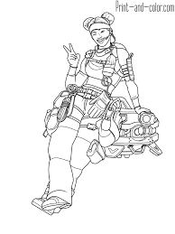 Searching for a coloring page? Apex Legends Coloring Pages Print And Color Xbox One Reddit Pathfinder Bloodhound Titanfall Origin Metacritic Mobile Fortnite Twitch Oguchionyewu