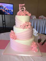 Calumet Bakery Pretty In Pink Quince Sweet 16 Quinceanera Cakes