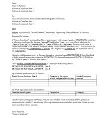 brilliant ideas of how to write cover letter for german visa about  brilliant ideas of how to write cover letter for german visa about template sample