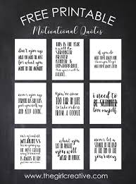 Weight Loss Motivational Quotes Free Printable Motivational Quotes The Girl Creative
