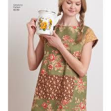 Apron Dress Pattern Stunning Simplicity Pattern 48 Women's Dottie Angel Reversible Apron Dress