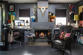 eclectic home office. Eclectic Home Office H