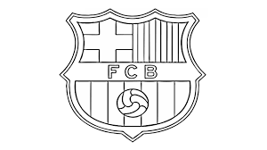 Kleurplaat Voetbal Logo Barcelona Auto Electrical Wiring Diagram