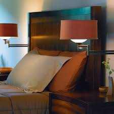 wall lighting bedroom. beautiful bedroom bathroom nickel wall lamps with shades near wooden beds also side  table best lighting for and bedroom