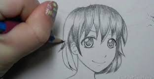 How To Shade Anime Hair With Pencil Adult Coloring Pages