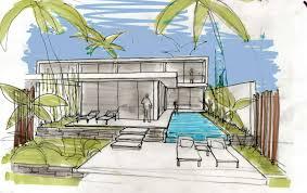 Villa Sketch Design Villa Design Sketch Interior Design Ideas