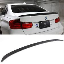 BMW Convertible bmw 320i vs 328i vs 335i : F30 3D Style Carbon Fiber Auto Trunk Boot Spoiler Wing Fit For BMW ...
