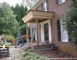 how much to build a front porch