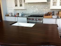 interior kitchen design and decoration using white farmhouse kitchen sinks including dark brown kitchen wood