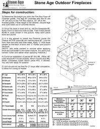 outdoor fireplace blueprints famous iblogfa within outdoor fireplace blueprints