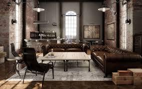 industrial living room furniture. Rustic Industrial Living Room Furniture I