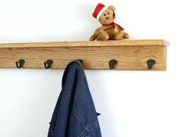 Coat Rack Storage Unit Coat Hook Shelf Oak Shelf Coat Rack Single Style Hooks With Aged 86