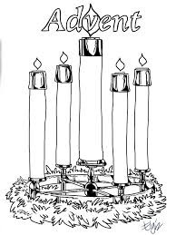 Small Picture Advent Coloring Pages Free Printable Coloring Home