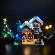 Winter Pictures With Led Lights Us 32 99 Led Light Up Kit Only Light Kit Included For 10249 Creator Expert Winter Toy Shop And 35019 Bricks Set In Blocks From Toys Hobbies On