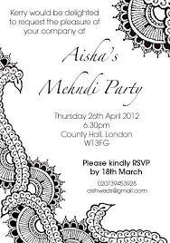 Invitation Wording For Mehndi Party Barca Fontanacountryinn Com