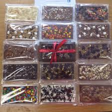 chocolate bars por creations