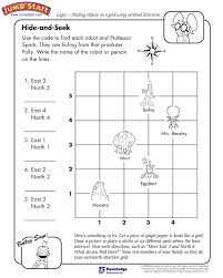Worksheets for Cardinal Directions | Homeshealth.info