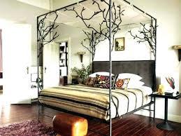 black wood canopy bed – mayamama.co