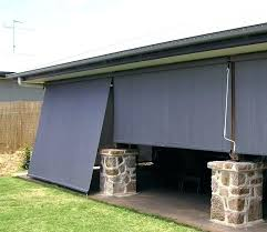coolaroo outdoor shades blind curtain home depot sun shade patio