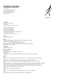 Resume In Visual Arts Sales Art Lewesmr