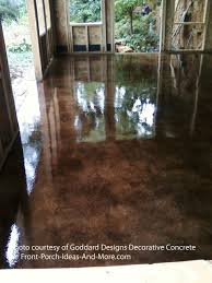 stained concrete floor texture. Concrete Staining Sunroom Stained Floor Texture C