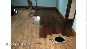 how much does it cost to refinish wood floors diy