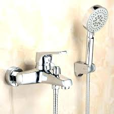 tub faucet with handheld shower handheld shower head for bathtub faucet handheld shower head attaches to